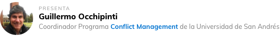 Guillermo Occhipinti - Coordinador Programa Conflict Management de la Universidad de San Andrés